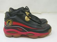 new The Answer DMX 10 'Black Red GOld'  J02565 MEN SIZE 8