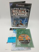 Star Wars: Rebel Strike Rogue Squadron III 3 (GameCube) with Case & Pamphlets