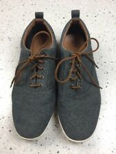 Men's Mossimo Supply Co Casual Sneakers, Dark Chambray With Brown Laces, Size 11