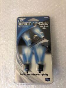 25400 Azul 12V Led Micro Luz Interior Decorativa