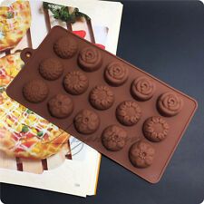 UK Halloween Chocolate Cake Cookie Cutters Muffin Flowers Baking Bakeware Moulds