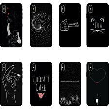 For iPhone X 6 7 8 Plus Funny Cute Cartoon TPU Soft Silicone Phone Case Cover