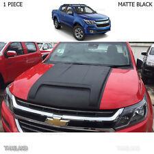 Fits Chevrolet Holden Colorado Z71 2017 Matte Black Scoop Bonnet Vent Hood Cover