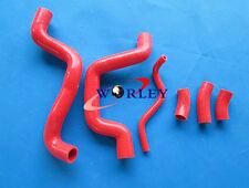 SUZUKI SV650 K1 K2 K3 1999 2000 2001 2002 silicone radiator hose RED