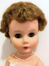 Arrrow Plastics Vtg Lady Fashion Doll 1966 Vinyl Head Hard Plastic High Heel