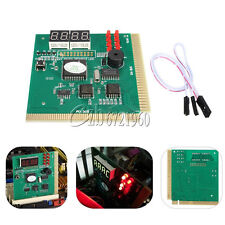 LED 4 Digit Analysis Diagnostic Tester POST Card PCI 4 PC Analyzer Motherboard