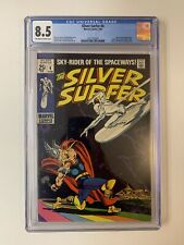 SILVER SURFER #4 2/69 CGC 8.5 OW/ WHITE PAGES LOW RUN THOR CROSSOVER HIGH GRADE