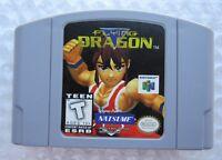 ✅ *GREAT* Flying Dragon Nintendo 64 N64 Video Game Super Fun Retro Rare Ninja ✅