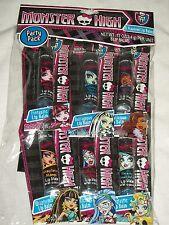 Monster High Flavored Lip Balm Set 6 Mango Cherry Grape Berry Blueberry Ocean
