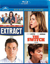 Extract & The Switch Blu-ray Double Feature New Sealed 065935581499