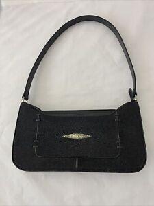 Genuine Stingray Leather Shoulder Handbag Purse Med Size Thailand