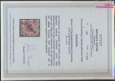 Carolines (Duits.Colony) 6I getest met Attest, diagonaal Afdrukken ges (9213324