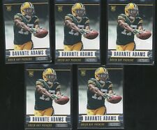 LOT x5 2014 Rookies & Stars DAVANTE ADAMS rookie RC Packers