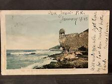 Puerto Rico ca1900-1920s, Vintage  Postcard Tarjeta Postal usada/postmarked