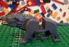LEGO LORD OF RINGS Hobbit  DARK GRAY WARG WOLF Minifigure 79002