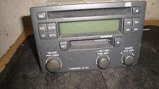 01 02 03 Volvo S40 Radio Stereo CD Player w/o Aux Jack 30887088 Match ##