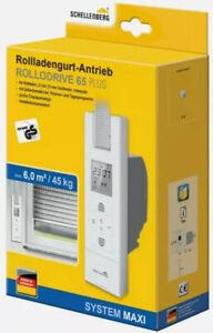 Schellenberg Rollodrive 65 Plus Elektrischer Gurtwickler max 6m² Fläche.