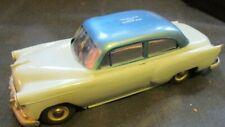 1954 Chevy 210 2 Door HT Plastic Promo Car Bank Regatta Blue over Horizon Blue