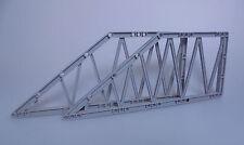 LEGO® City 2x Brückenelement Girder 55767 neu hellgrau aus Set 7900 Brücken Teil