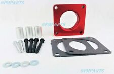 Red Throttle Body Spacer 87-04 Grand Cherokee JEEP Wrangler  2.5L 4.0L
