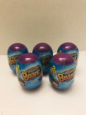 Mighty Beanz Blind Purple Egg 2 Beanz Inside Lot of 5 NEW Sealed