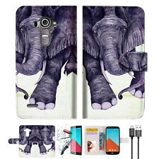 Elephant Wallet TPU Case Cover For LG G6-- A007