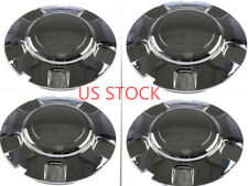F096 4pcs/set New Chrome Wheel Center Caps FOR 1999-2003 Ford Expedition