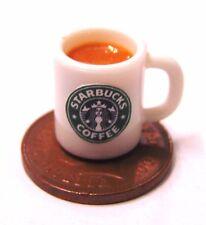 1:12 Scale Mug Of Starbucks Chocolate Tumdee Dolls House Kitchen Drink Accessory