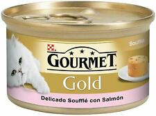 PATES PARA GATOS PURINA® GOURMET® Gold Soufflé con Salmon 85g PATE SNACK DE GAT