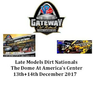 Late Models Dirt Nationals DVD From The Dome At America's Center 12-13+14-2017