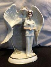 Angel Of Compassion Heaven's Gentle Touch Nurse The Bradford Exchange M0674
