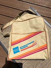American Express vintage travel bag