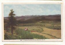 Typical Northern Colorado Mountain Ranch Vintage CO Ca 1910 Postcard