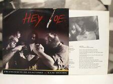 """FRANCESCO DI GIACOMO & SAM MOORE - HEY JOE ( JIMI HENDRIX ) 12"""" MIX VINYL EX/EX+"""