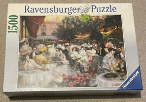 """RAVENSBURGER 1500 Jigsaw Puzzle - NEW SEALED FROM 1997 """"HOTEL RITZ PARIS 1904"""""""