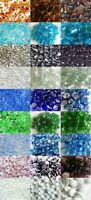500g Glass Pebbles Mix 3 Different Sizes 3-6mm 20mm 30mm Variety of Colours