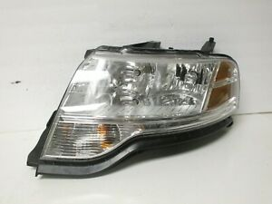 FORD TAURUS X HEADLIGHT LH LEFT HAND DRIVER 08-09