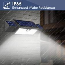 Waterproof Solar 71 LED Motion Sensor Light Outdoor Garden Path Street Wall Lamp
