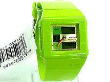 CASIO Ladies Baby-G Square Ana/Dig Green Bband BGA200-3 100% Brand New Original