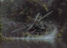 """Deliverance"" Dru Blair Signed Giclee Print - AH-64 Apache Attack Helicopter"