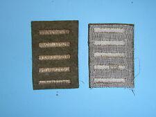 b1655-5 WW 2 US Army Overseas Bar Officer style 5 bars OD wool