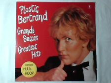 PLASTIC BERTRAND Grands succès - Greatest hits lp ITALY NUOVO
