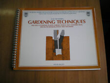 manuali GARDENING TECHNIQUES by ALAN TITCHMARSH  1983