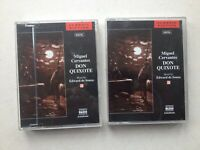 10030 Don Quixote by Miguel Cervantes Audio Book on 3 Cassettes Classic Fiction
