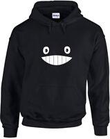 Totoro Smile Face, Printed Hoodie