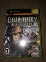 Call of Duty: Finest Hour - Original Xbox Game - Complete & Tested