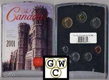 2001 RCM (Ottawa Mint Buildings) Oh! Canada Set (10691)