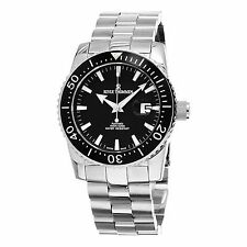Revue Thommen Men's Diver Black Dial Stainless Steel Automatic Watch 17030.2137