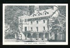 Cumbria AMBLESIDE Croft Hotel Advert c1920/30s? PPC