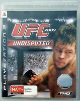 UFC 2009 UNDISPUTED - PLAYSTATION 3 PS3